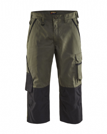 Blaklader 1455 Pirate Garden Trouser (Army Green/Black)